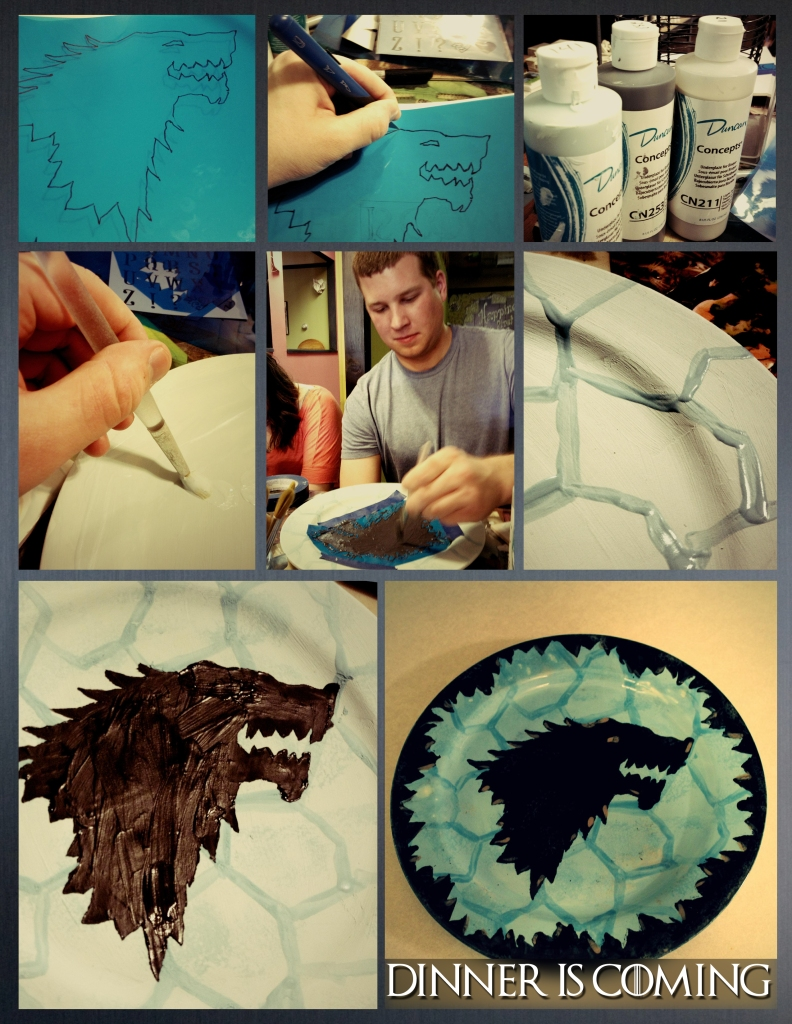 Dire Wolf Plate
