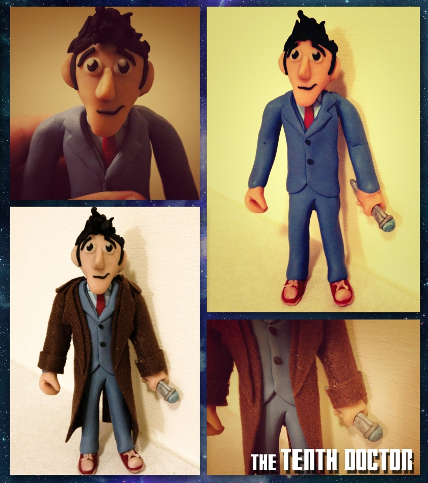 Clay Doctor Who David Tennant