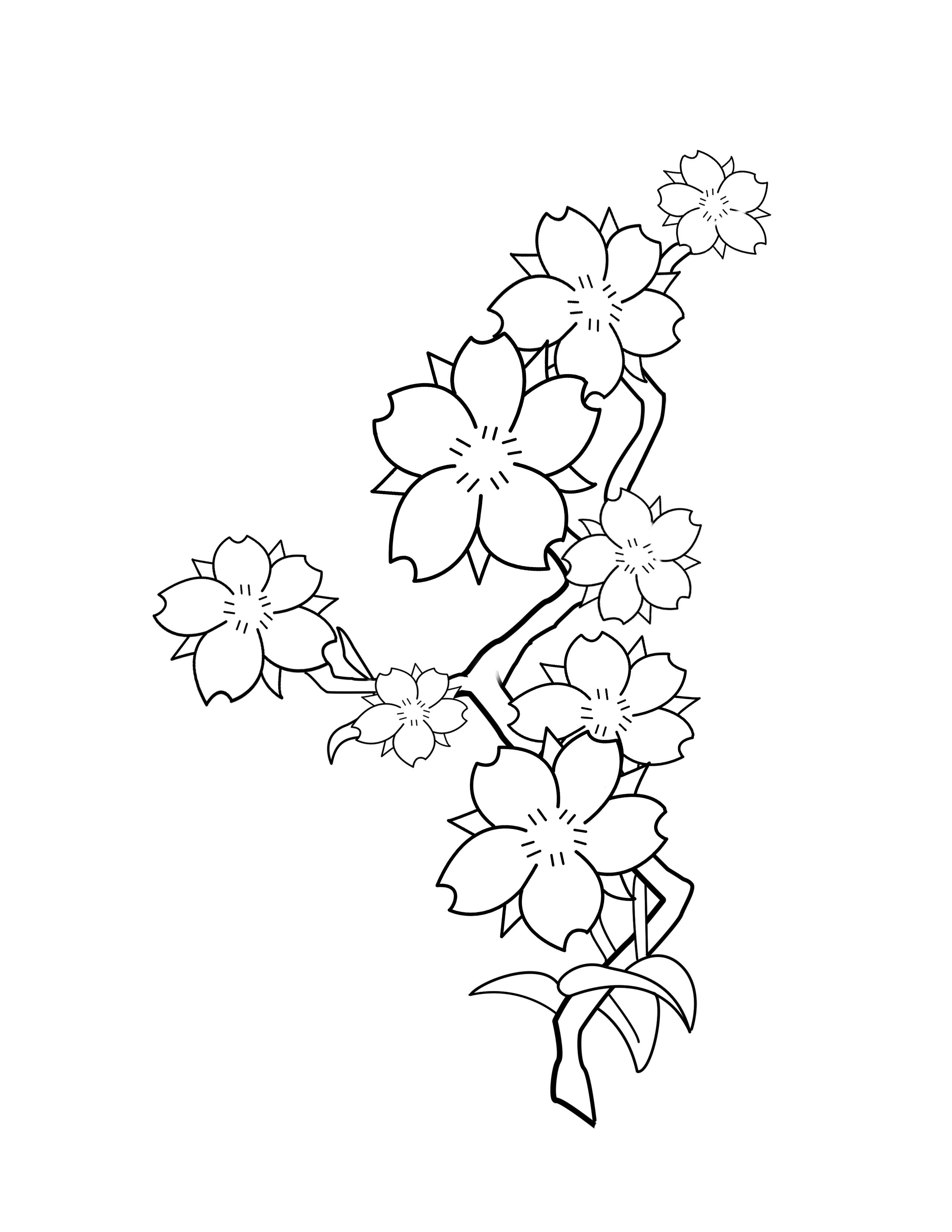 Lily Tattoo Line Drawing : Lily tattoos tattoo images gallery pictures